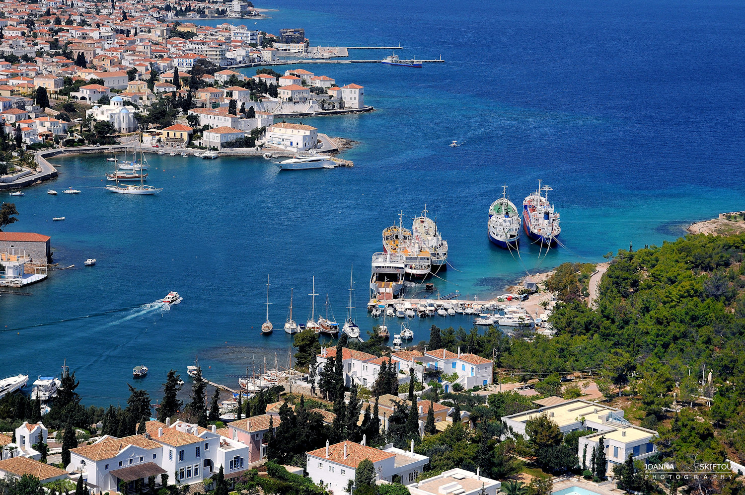 Aerial  photography by Joanna Skiftou, Spetses, Greece
