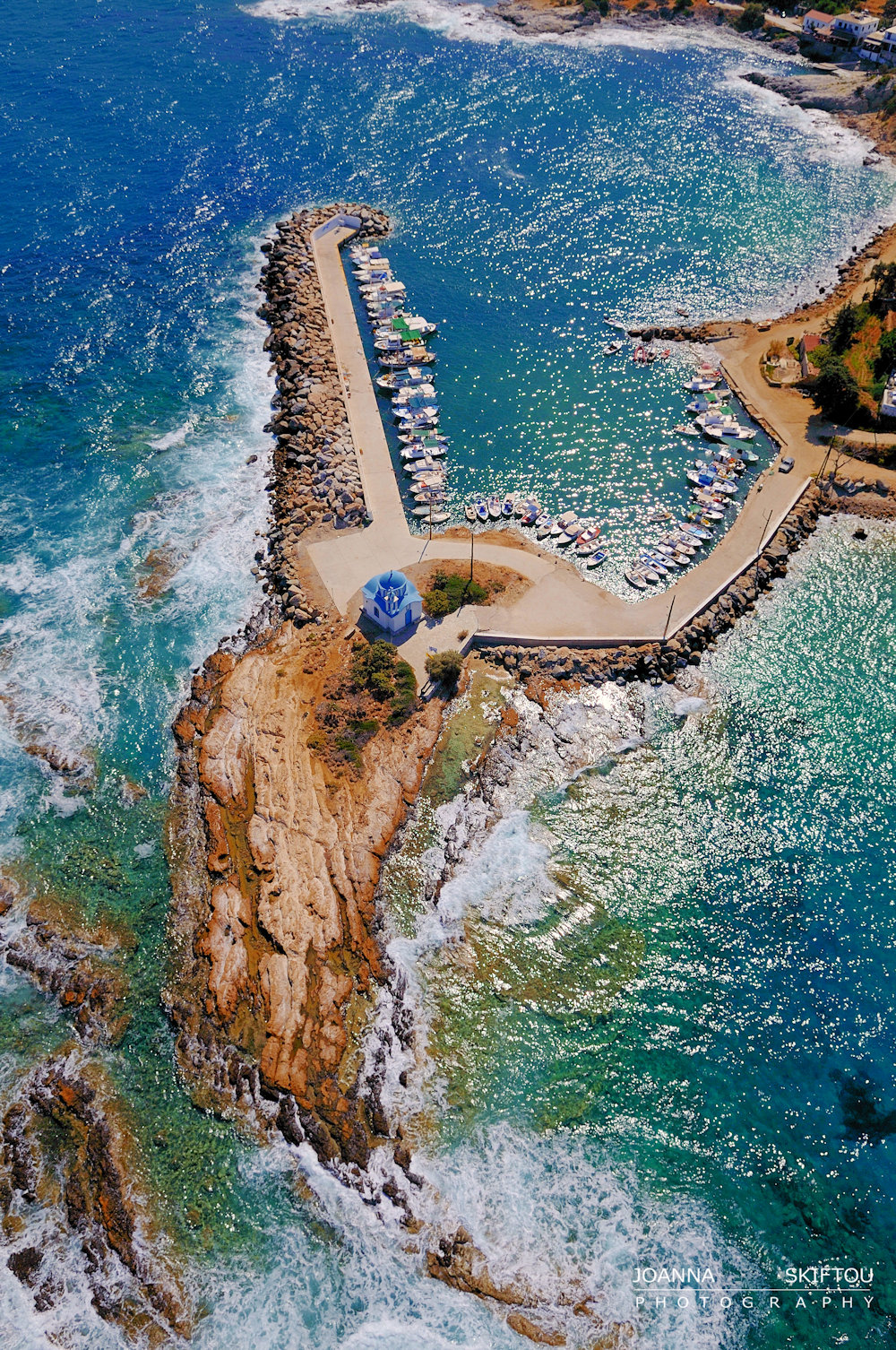 Aerial photography by Joanna Skiftou, Ikaria, Greece